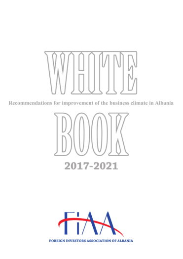 Cover White Book Albania 2017-2021-1